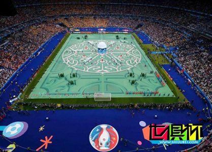 2016年欧洲杯开幕,浪漫法国充分利用10分钟展现本土风情