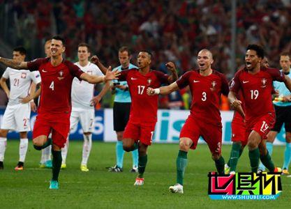 2016年7月1号欧洲杯葡萄牙点球大战6-4淘汰波兰晋级半决赛
