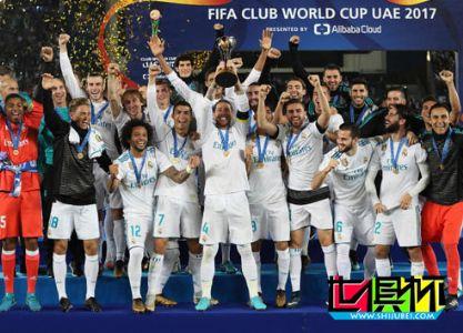 皇马1-0卫冕世俱杯冠军成就5冠王 C罗一锤定音