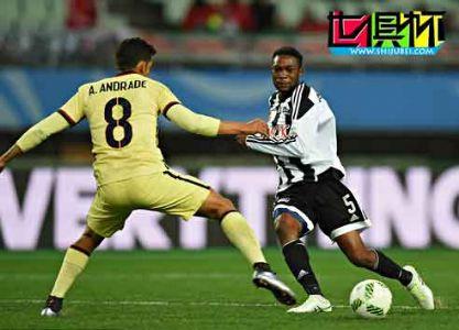 世俱杯-贝内代托头球破门 美洲2-1马赞姆贝获第5
