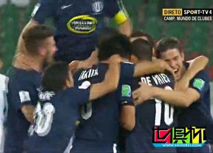 世俱杯-蓝十字加时3比1击败亚冠冠军 半决赛战皇马