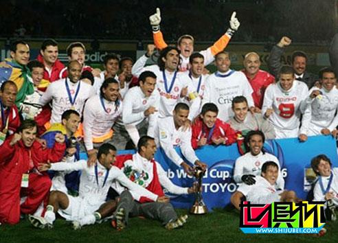 2006世俱杯:久攻未果惨遭偷袭 巴萨痛失世俱杯冠军