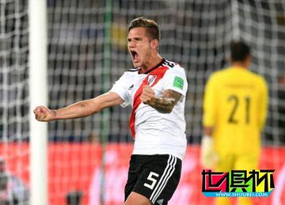 2018世俱杯-河床4-0胜鹿岛鹿角获季军 祖库里尼传射建功