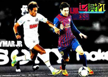 2011世俱杯决赛内马尔PK梅西 演足球未来与现在之争