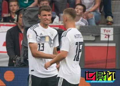 热身赛-德国2-1沙特阿拉伯取六战首胜 穆勒造乌龙