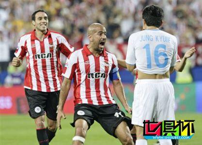 2009世俱杯-浦项制铁三人染红 大学生2-1取胜进决赛