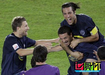 2009世俱杯-奥克兰城3-2胜10人马赞姆贝 勇夺第五名