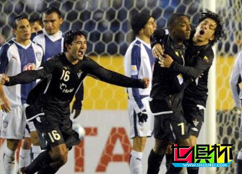 2008世俱杯-美洲德比惊现8黄 南美冠军2-0胜进决赛