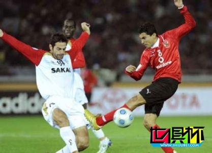 2008世俱杯-巴西前锋绝杀非洲红魔 阿德莱德获第五