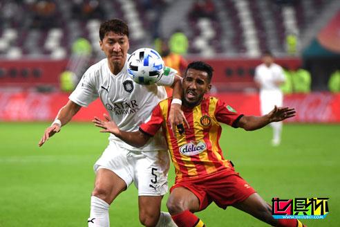 2019世俱杯-哈维率领的东道主阿尔萨德2-6被突尼斯希望暴揍