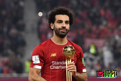 萨拉赫成为2019卡塔尔世俱杯获奖者中的头号球员
