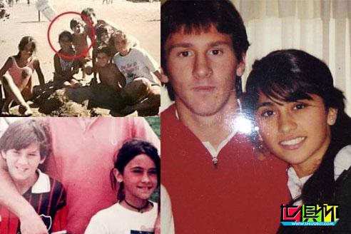 梅西33岁的生日,妻子安东内拉上传了自己与梅西亲密合照-第2张图片-世俱杯