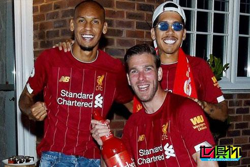 利物浦门将阿德里安:提前拿下英超冠军每个人都非常兴奋