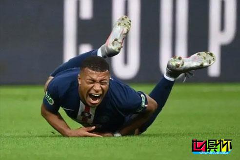 巴黎圣日耳曼官方透露姆巴佩伤情,养伤三周无缘欧冠1/4决赛