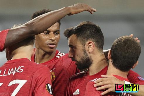 欧联杯1/4决赛曼联1-0击败哥本哈根晋级四强,B费点球建功-第1张图片-世俱杯