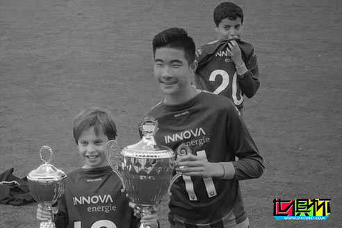 效力于荷兰海牙梯队的15岁中国球员王凯冉溺水身亡