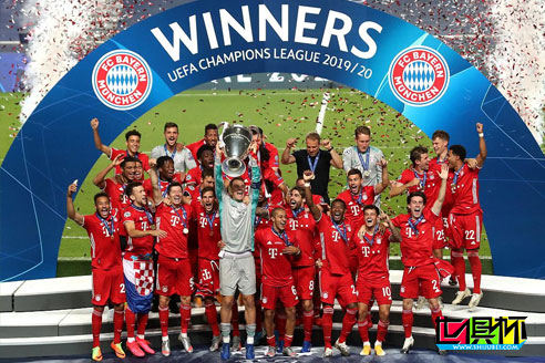 拜仁1-0击败巴黎第6次获得欧冠冠军,以全胜战绩夺冠创造历史