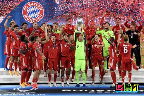 拜仁第二次赢得超级杯,各项赛事23战全胜,32场保持不败