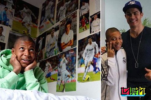 法国主场0比0战平葡萄牙,姆巴佩发文致敬偶像C罗