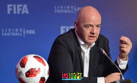 国际足联主席因凡蒂诺新冠检测呈阳性