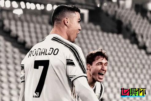 意甲第23轮尤文主场3:0战胜克罗托内,C罗8分钟头球梅开二度
