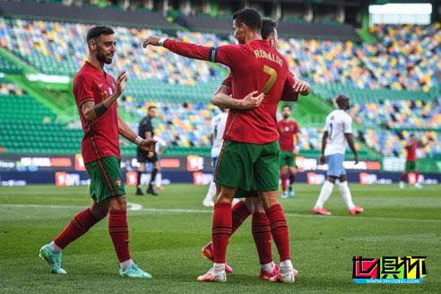 热身赛:葡萄牙4:0大胜以色列,C罗为国家队打进104球