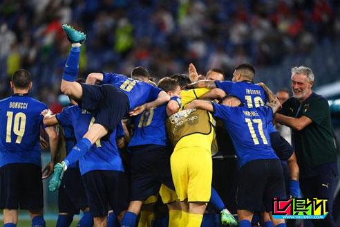 意大利3-0战胜瑞士,取得欧洲杯2连胜,提前锁定出线资格