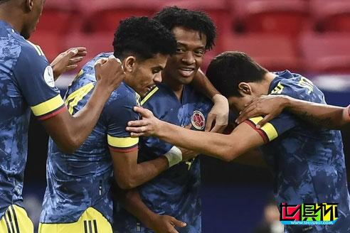 哥伦比亚3-2绝杀秘鲁,拿到本届美洲杯第3名