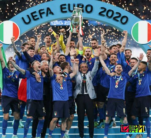 意大利点球大战4-3击败英格兰,53年第二次夺得欧洲杯冠