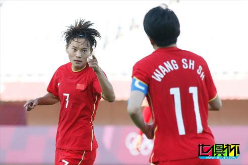 奥运会:中国女足4比4战平赞比亚女足,王霜大四喜已经尽力了