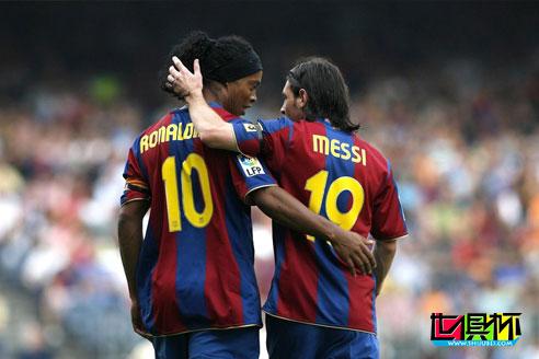 世界体育报:梅西一个人为巴萨的贡献等于四位传奇球星的总和